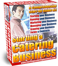 Starting a Catering Business Start-Up Guide Kit